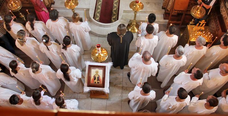 Крещальная литургия